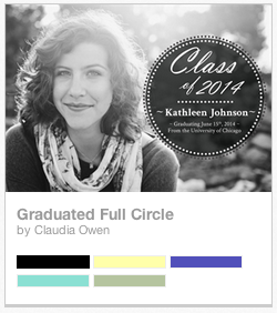 Greenvelope Graduation card by Claudia Owen 0