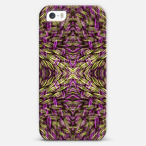 Color blooms phone cover by Claudia Owen