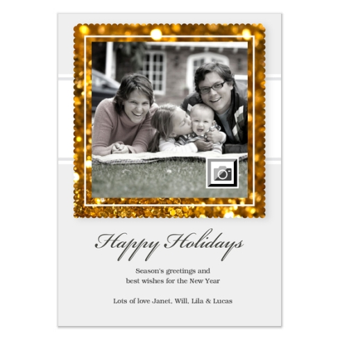 Holiday Card by Claudia Owen for Celebrations 2