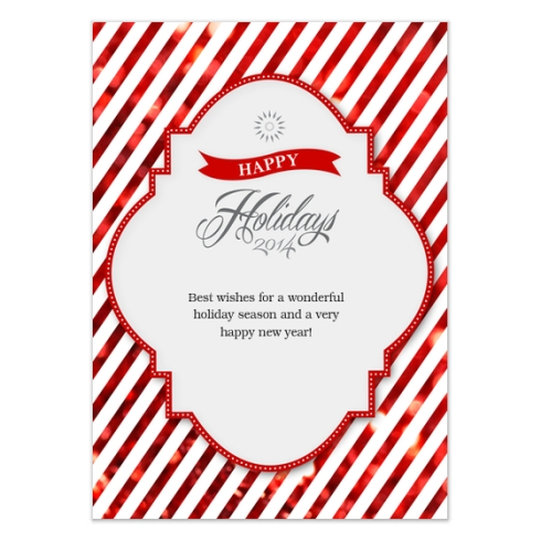 Holiday Card by Claudia Owen for Celebrations 4