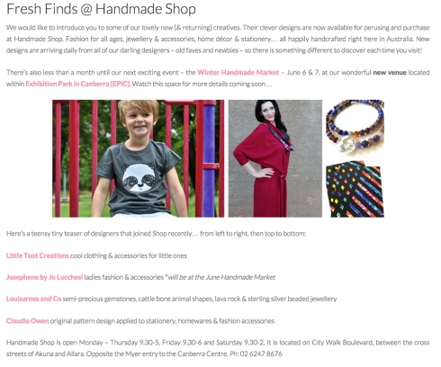 Handmade-shop-may-2015-Canberra Claudia Owen feature